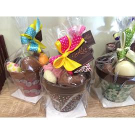 Húsvéti csokoládé kaspó